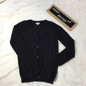 Down East Girl -Penny Candy Aster Black Cardigan
